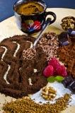 σοκολάτα kaffe Στοκ Εικόνα
