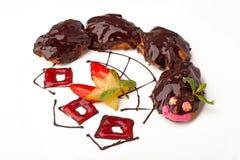 σοκολάτα s παιδιών κέικ Στοκ εικόνες με δικαίωμα ελεύθερης χρήσης