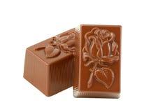 σοκολάτες δύο Στοκ Φωτογραφίες