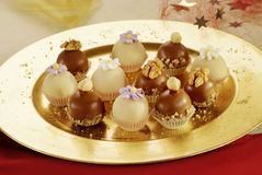 σοκολάτες εύγευστες Στοκ φωτογραφίες με δικαίωμα ελεύθερης χρήσης