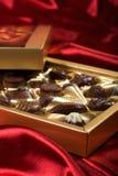 σοκολάτες κιβωτίων ανο&i Στοκ Εικόνες