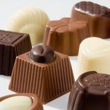 σοκολάτες πολυτελεί&sig στοκ εικόνες