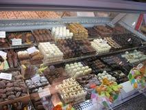 Σοκολάτες στην πώληση Στοκ Εικόνες