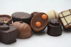 σοκολάτες του Βελγίο&u στοκ φωτογραφία με δικαίωμα ελεύθερης χρήσης