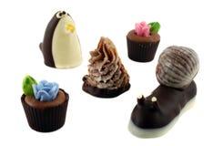 σοκολάτες χειροποίητε στοκ εικόνα