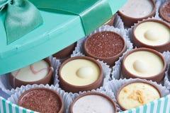 σοκολάτες στοκ εικόνες