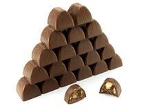 σοκολάτες Στοκ εικόνα με δικαίωμα ελεύθερης χρήσης