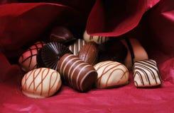 σοκολάτες στοκ φωτογραφία