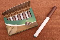 Σοκολάτα ε-Cig Στοκ εικόνες με δικαίωμα ελεύθερης χρήσης