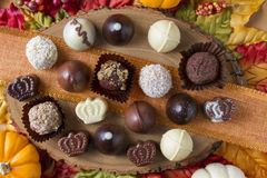 Σοκολάτα διακοπών Στοκ φωτογραφία με δικαίωμα ελεύθερης χρήσης