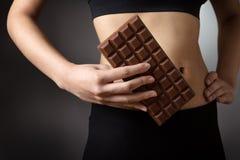 σοκολάτα ι αγάπη Στοκ Εικόνες