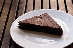 Σοκολάτα κέικ brownies Στοκ Φωτογραφία