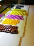 Σοκολάτα και καραμέλα στοκ εικόνα