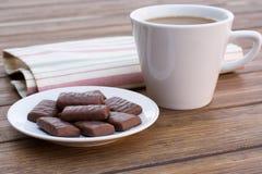 Σοκολάτα και καφές Στοκ φωτογραφία με δικαίωμα ελεύθερης χρήσης