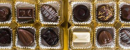 σοκολάτα καραμελών κιβ&ome Στοκ Φωτογραφία