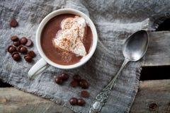σοκολάτα καυτή στοκ φωτογραφία με δικαίωμα ελεύθερης χρήσης