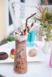 σοκολάτα που παγώνεται Στοκ εικόνες με δικαίωμα ελεύθερης χρήσης