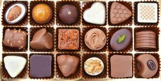 Σοκολάτα στο κιβώτιο στοκ εικόνες