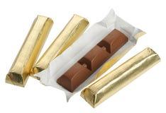 Σοκολάτα στο φύλλο αλουμινίου, Στοκ Φωτογραφία