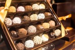Σοκολάτα του Βελγίου στοκ εικόνες