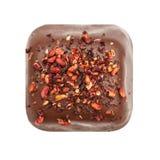 Σοκολάτα candie από τη τοπ άποψη συλλογής Στοκ Φωτογραφίες
