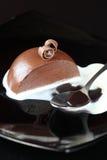 Σοκολάτα Panna Cotta στοκ φωτογραφία με δικαίωμα ελεύθερης χρήσης