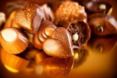 Σοκολάτες βαλεντίνων στοκ φωτογραφία με δικαίωμα ελεύθερης χρήσης