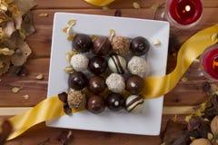 Σοκολάτες διακοπών Στοκ Φωτογραφία
