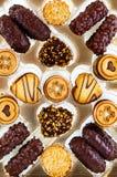 σοκολάτες κιβωτίων Στοκ Φωτογραφία