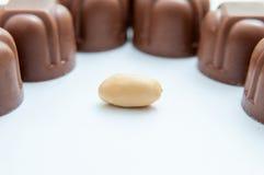 Σοκολάτες φυστικιών Στοκ Εικόνες