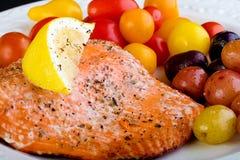 σολομός γευμάτων Στοκ εικόνες με δικαίωμα ελεύθερης χρήσης