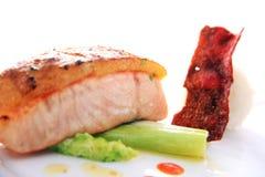 σολομός κρέατος ψαριών π&omicro Στοκ Εικόνες