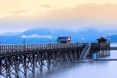 σολομός του Καναδά βραχ&i Στοκ φωτογραφίες με δικαίωμα ελεύθερης χρήσης