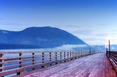 σολομός του Καναδά βραχ&i Στοκ εικόνα με δικαίωμα ελεύθερης χρήσης