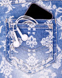 Σορτς τζιν παντελόνι τζιν Στοκ φωτογραφία με δικαίωμα ελεύθερης χρήσης