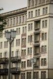Σοσιαλιστική αρχιτεκτονική στο Βερολίνο Στοκ εικόνα με δικαίωμα ελεύθερης χρήσης