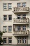 Σοσιαλιστική αρχιτεκτονική στο Βερολίνο Στοκ Εικόνες
