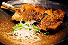 Σουβλισμένο κρέας Στοκ Εικόνες