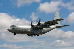 Σουηδικά Πολεμικής Αεροπορίας αεροσκάφη μεταφορών Flygvapnet Lockheed γ-130H Hercules στρατιωτικά Στοκ Φωτογραφία