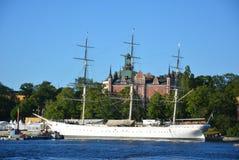 Σουηδική βάρκα Magestic Στοκ Εικόνα