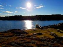 Σουηδικό έδαφος στοκ φωτογραφίες με δικαίωμα ελεύθερης χρήσης