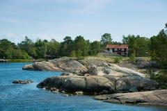 Σουηδικό idyll Στοκ εικόνα με δικαίωμα ελεύθερης χρήσης