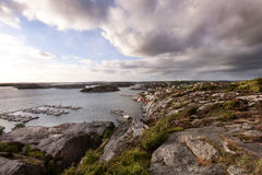 Σουηδία Fjalbacka Στοκ Φωτογραφίες