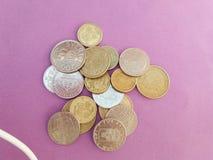 Σουηδικά και δανικά νομίσματα Στοκ Φωτογραφίες