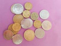Σουηδικά και δανικά νομίσματα Στοκ Εικόνες