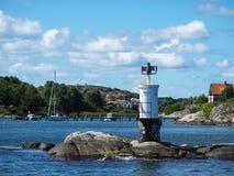 Σουηδικά νησιά από τη βάρκα στοκ φωτογραφία με δικαίωμα ελεύθερης χρήσης