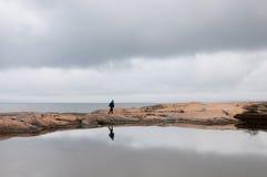 Σουηδική ακτή Στοκ Φωτογραφίες