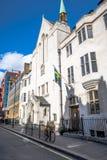 Σουηδική εκκλησία στο Λονδίνο, Αγγλία Στοκ εικόνες με δικαίωμα ελεύθερης χρήσης