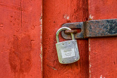 Σουηδική κλειδαριά Στοκ Φωτογραφίες