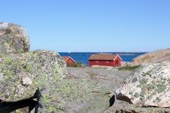 Σουηδική δυτική ακτή Στοκ εικόνα με δικαίωμα ελεύθερης χρήσης